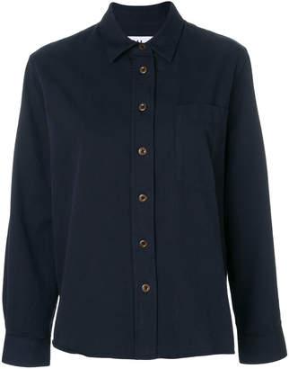 Margaret Howell chest pocket swing shirt