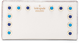 kate spade new york Stacy Wallet in Cream.