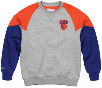 Mitchell & Ness Men's New York Knicks Trading Block Crew Sweatshirt