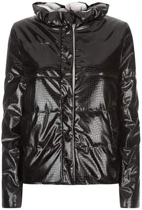 Emporio Armani Padded Crocodile Jacket