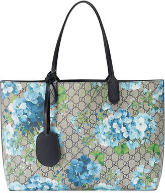 Reversible GG blooms leather tote $1,250 thestylecure.com