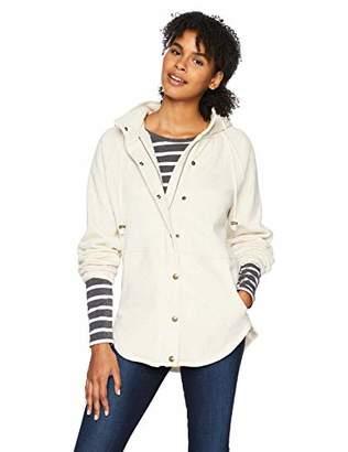 O'Neill Women's Mink Fleece Jacket with Sherpa Hood