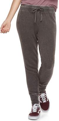 So Juniors' SO Ribbed Cuff French Terry Jogger Pants