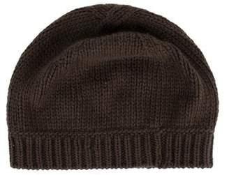 Marc Jacobs Woven Rib-Knit Beanie