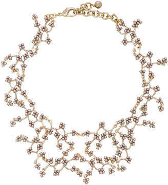 Lulu Frost Jackie Gold-Plated Crystal Necklace