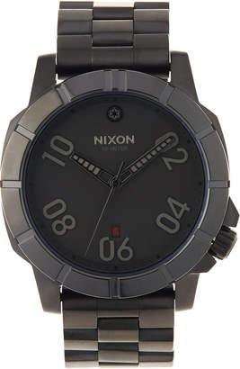Nixon 44mm Ranger SW Bracelet Watch, Imperial Pilot Black