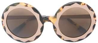 Markus Lupfer round frame sunglasses