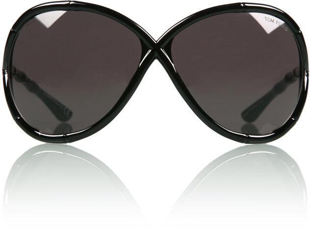 Tom Ford Black Simone Sunglasses
