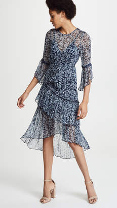 DAY Birger et Mikkelsen Rahi Bluebell Asymmetrical Dress
