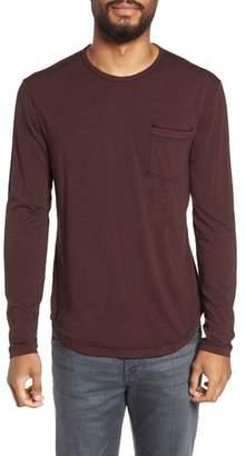 John Varvatos Burnout Long Sleeve T-Shirt