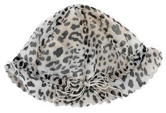 db995c38f095 Leon Fleurisse Girls' Leopard Print Silk Hat