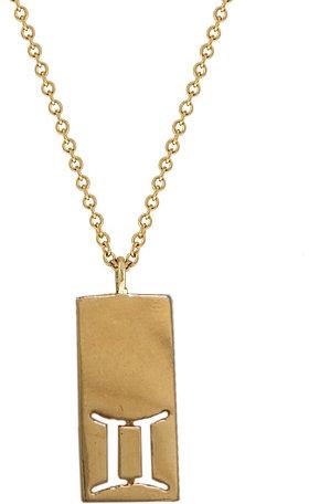 Ariel Gordon Jewelry :: Gemini Zodiac Charm Necklace