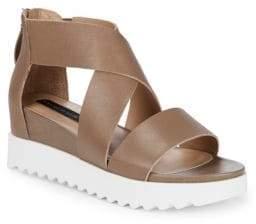 Kade Leather Crisscross Sandals