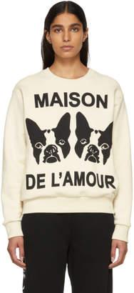 Gucci Off-White Bosco and Orso Sweatshirt
