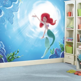 """Mural Roommates Disney Princess The Little Mermaid """"Part of your World"""" XL 7-piece Wall Decal"""