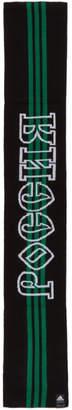 Gosha Rubchinskiy Black and Green adidas Originals Edition Scarf