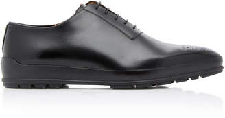 Bally Redison Calfskin Cap-Toe Dress Shoes
