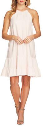 CeCe Ruffled Halter Dress