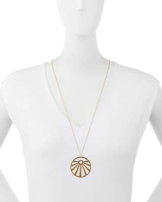 Jennifer Zeuner Jewelry Ray Cutout Pendant Necklace