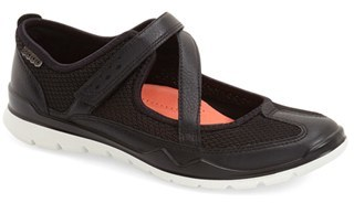 Women's Ecco 'Lynx' Mary Jane Flat $119.95 thestylecure.com