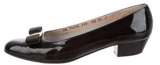 Salvatore Ferragamo Vara Patent Leather Pumps