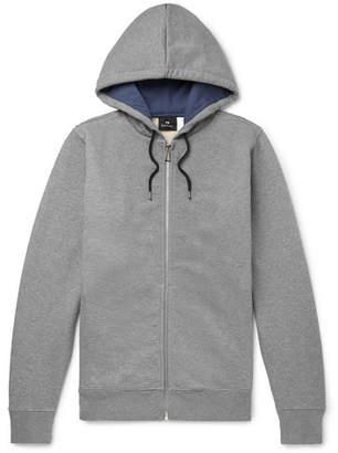 Paul Smith Organic Loopback Cotton-Jersey Zip-Up Hoodie
