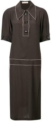 Marni midi flared dress