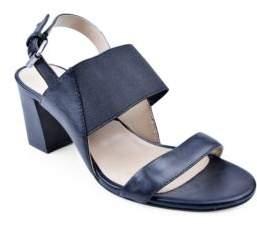Adrienne Vittadini Panya Leather Sandals