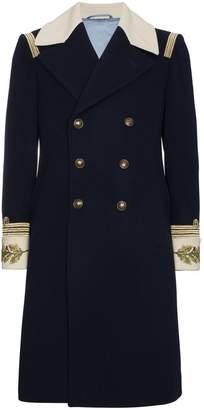 Gucci Admiral wool cashmere-blend top coat