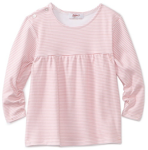 Zutano Baby-girls Infant Candy Stripe Peasant Top