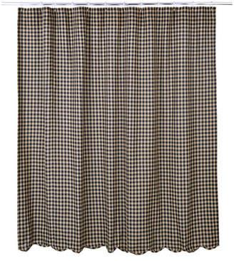 Laurèl Foundry Modern Farmhouse Heidi Scalloped Cotton Shower Curtain