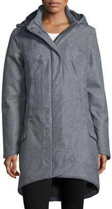 The North Face Temescal Hooded Snap-Front Parka Jacket $230 thestylecure.com