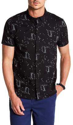 Tavik Bowery Printed Short Sleeve Modern Fit Shirt