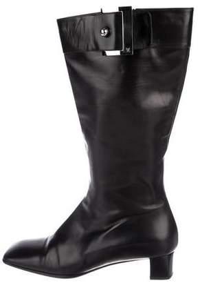 b51731478a95 Louis Vuitton Black Women s Boots - ShopStyle