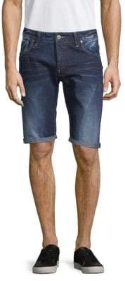 G Star Attacc Low Straight Denim Shorts