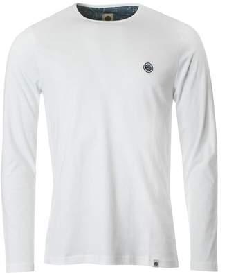 Pretty Green Mitchell Long Sleeved Crew Neck T-shirt