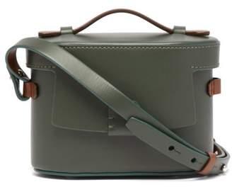 Nico Giani - Frera Mini Matte Leather Cross Body Bag - Womens - Green Multi