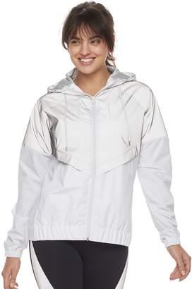 Fila Sport Women's SPORT Reflective Windbreaker Jacket