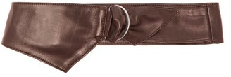 Isabel Marant Idi Leather Belt - Womens - Burgundy
