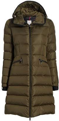 Moncler Betulong Long Quilted Jacket