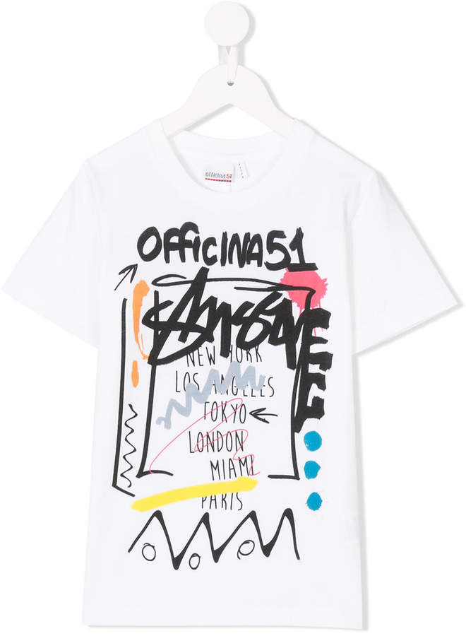 Officina 51 printed T-shirt