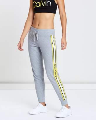 Calvin Klein Vertical Logo Tape Jogger Pants
