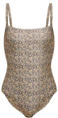 Matteau - The Square Swimsuit - Womens - Yellow Multi