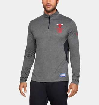 Under Armour Men's NBA Combine Authentic UA Season Zip Long Sleeve