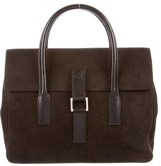 GucciGucci Suede Handle Bag