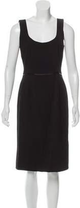 Dolce & Gabbana Virgin Wool Midi Dress