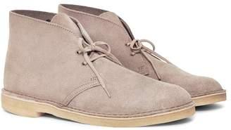 Clarks Suede Desert Boot Grey