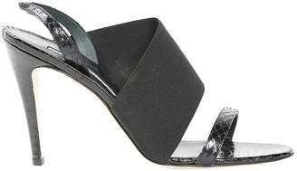 Manolo Blahnik Exotic Leathers Sandals