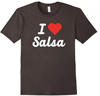 I Heart - I Love Salsa T-shirt For Lovers of the Salsa Music