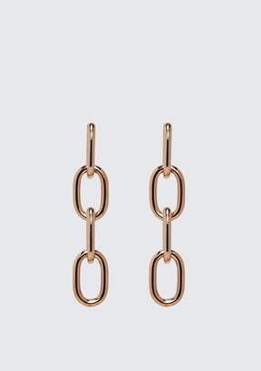 Alexander Wang FOUR LINK CHAIN EARRINGS IN ROSE GOLD Accessories